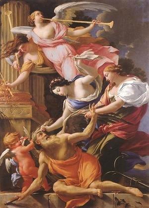 Cupid, Venus, and Hope Beat Saturn